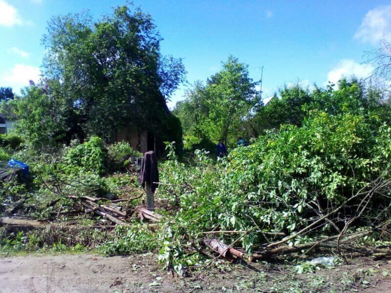 Расчистка земельного участка
