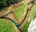 Стоимость монтажа водоснабжения и водоотведения на дачном участке