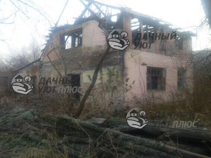 Демонтаж дома и расчистка участка в Серпуховском районе