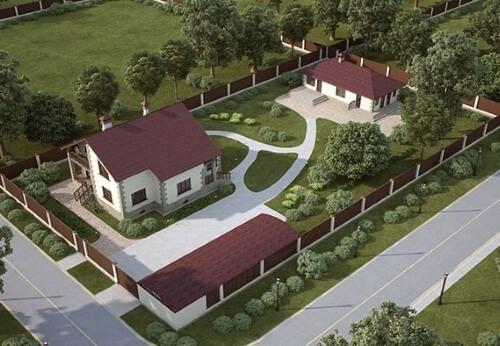 Планировка садового участка в Московской области