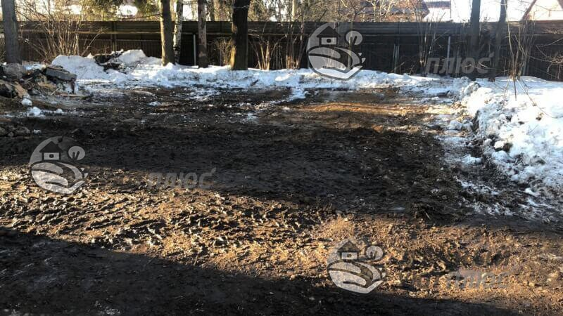Демонтаж деревянного дома с фундаментом в Бронницах