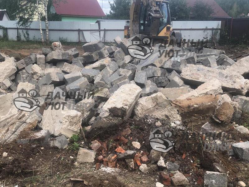 Демонтаж сооружения Одинцово