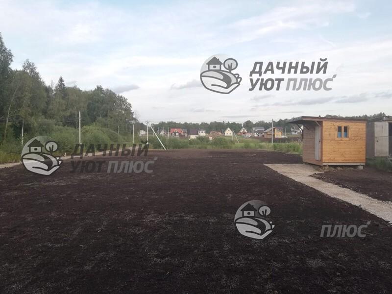 Подготовка участка под газон Истра