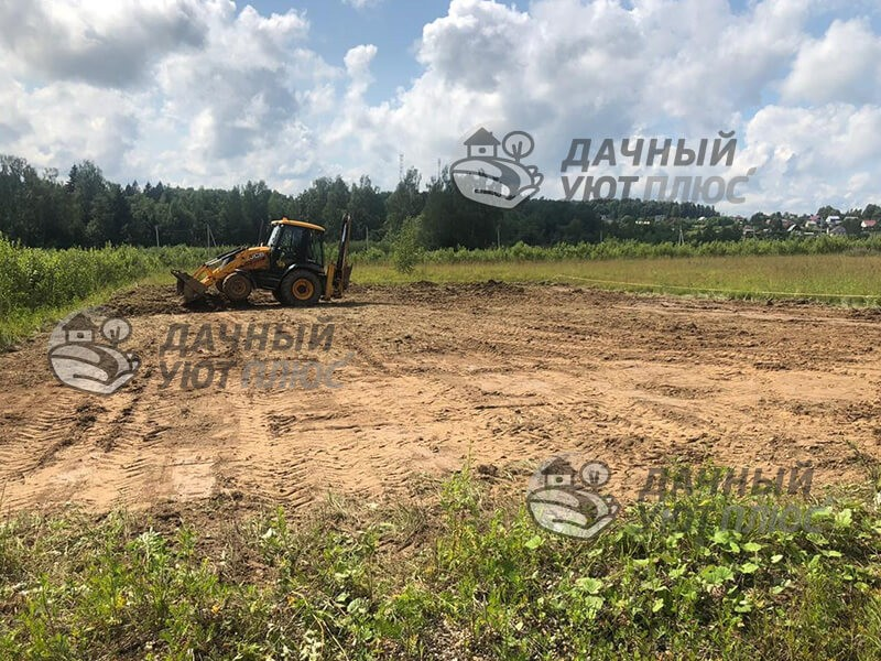 Планировка участка Сервиев-Посад