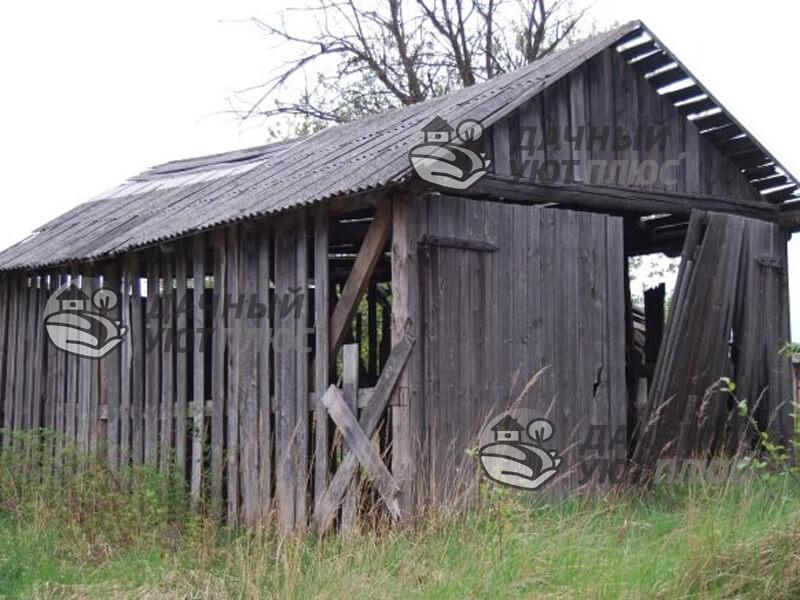 Демонтаж старого сарая